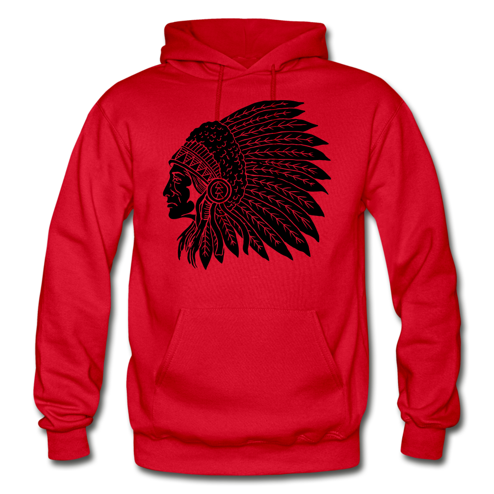 Native Hoodie - red