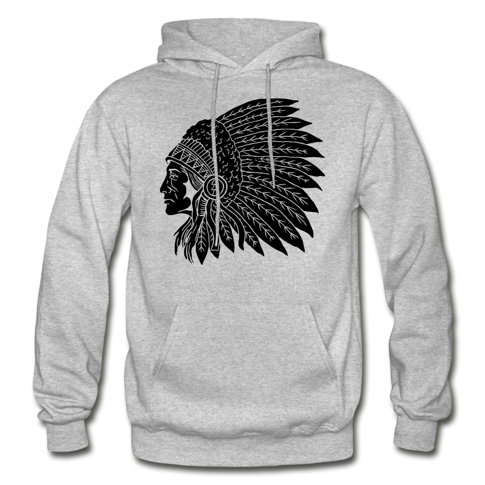Native Hoodie - heather gray