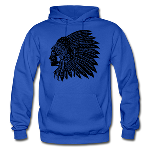 Native Hoodie - royal blue