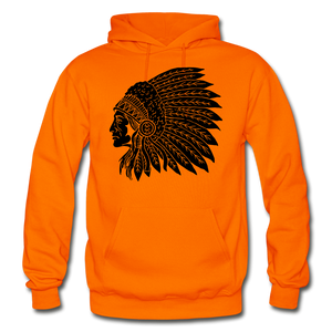 Native Hoodie - orange
