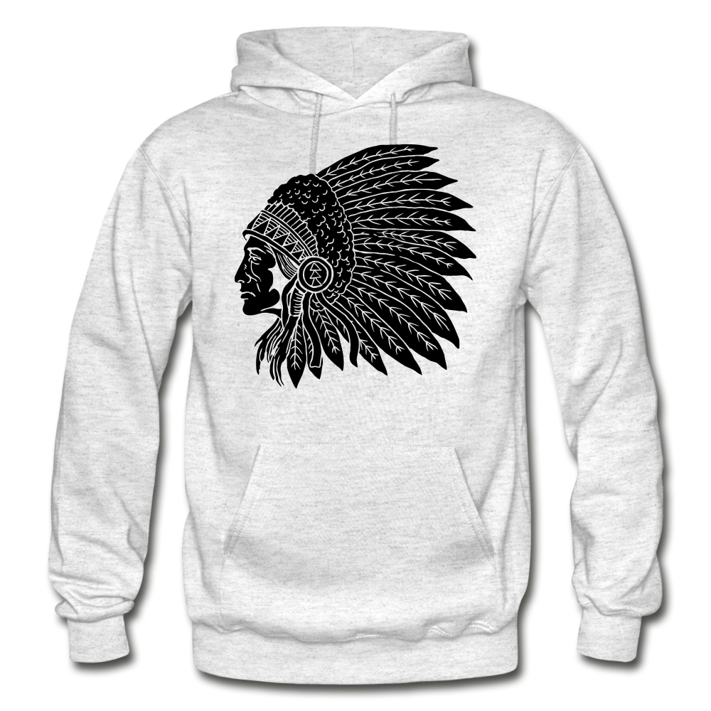 Native Hoodie - light heather gray