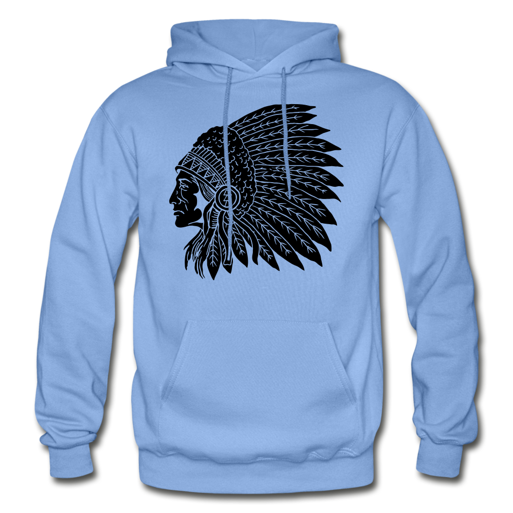 Native Hoodie - carolina blue
