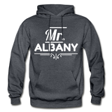 MR. ALBANY - charcoal gray