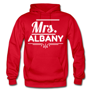 MRS ALBANY - red