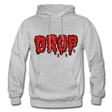 Drop Hoodie - heather gray