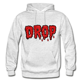 Drop Hoodie - light heather gray