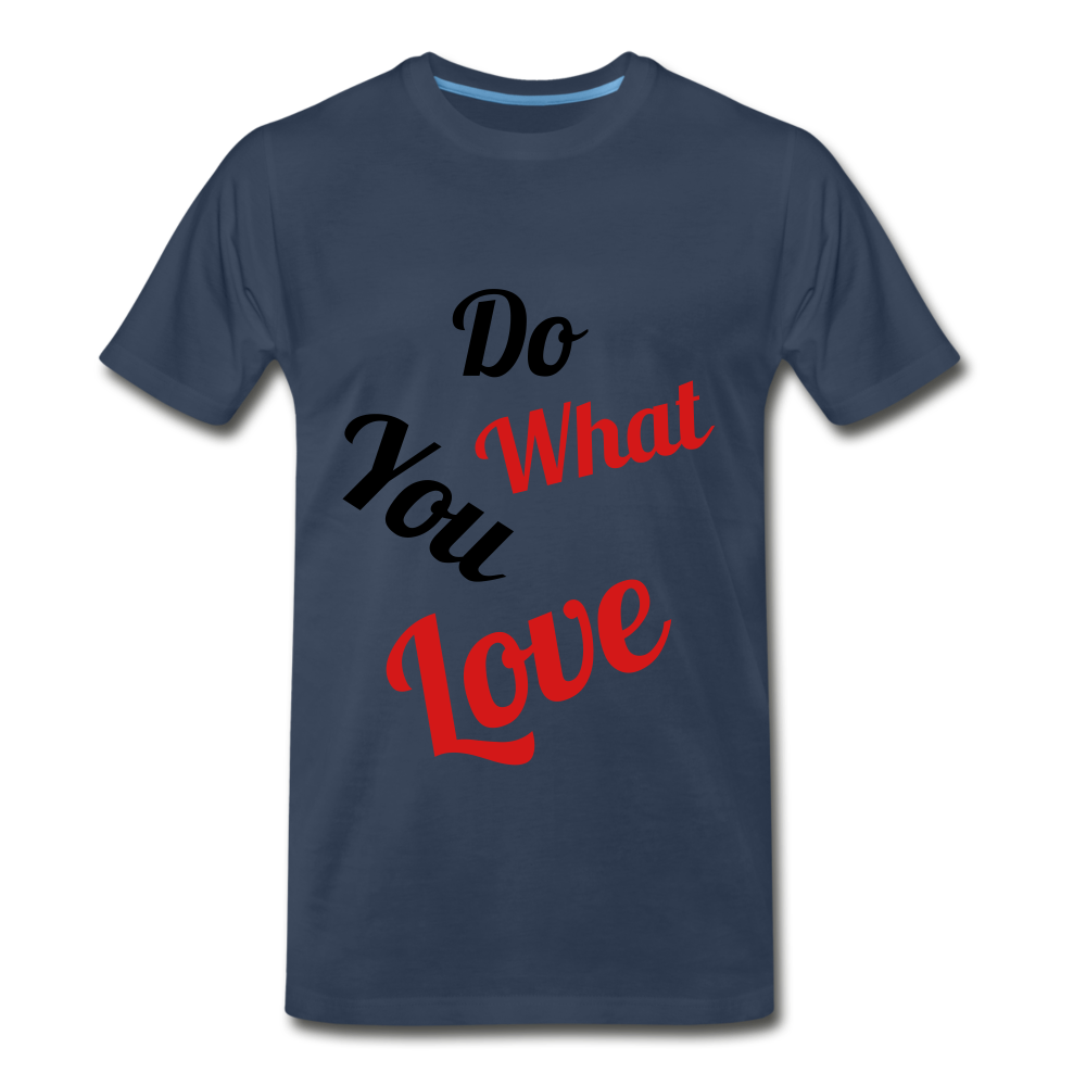 Do what you love. - navy