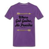 Where God Guides - purple