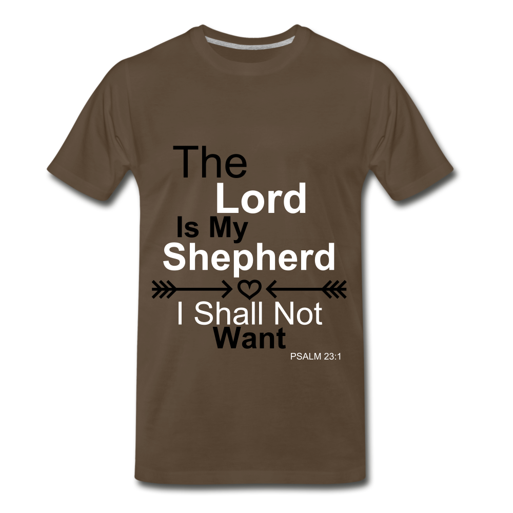 The Lord is my Shepherd - noble brown