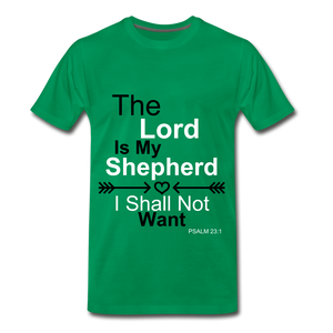 The Lord is my Shepherd - kelly green