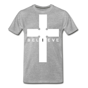 I Believe - heather gray