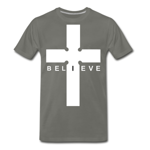 I Believe - asphalt gray