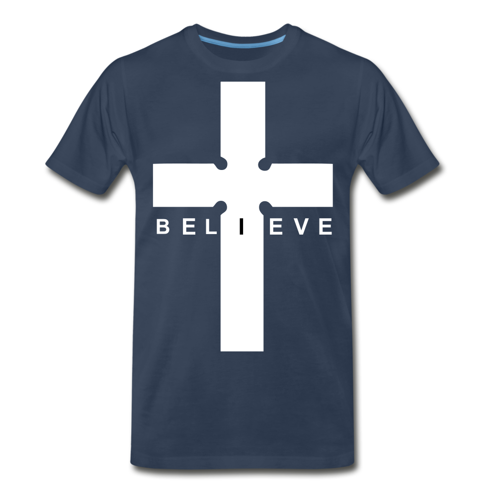 I Believe - navy