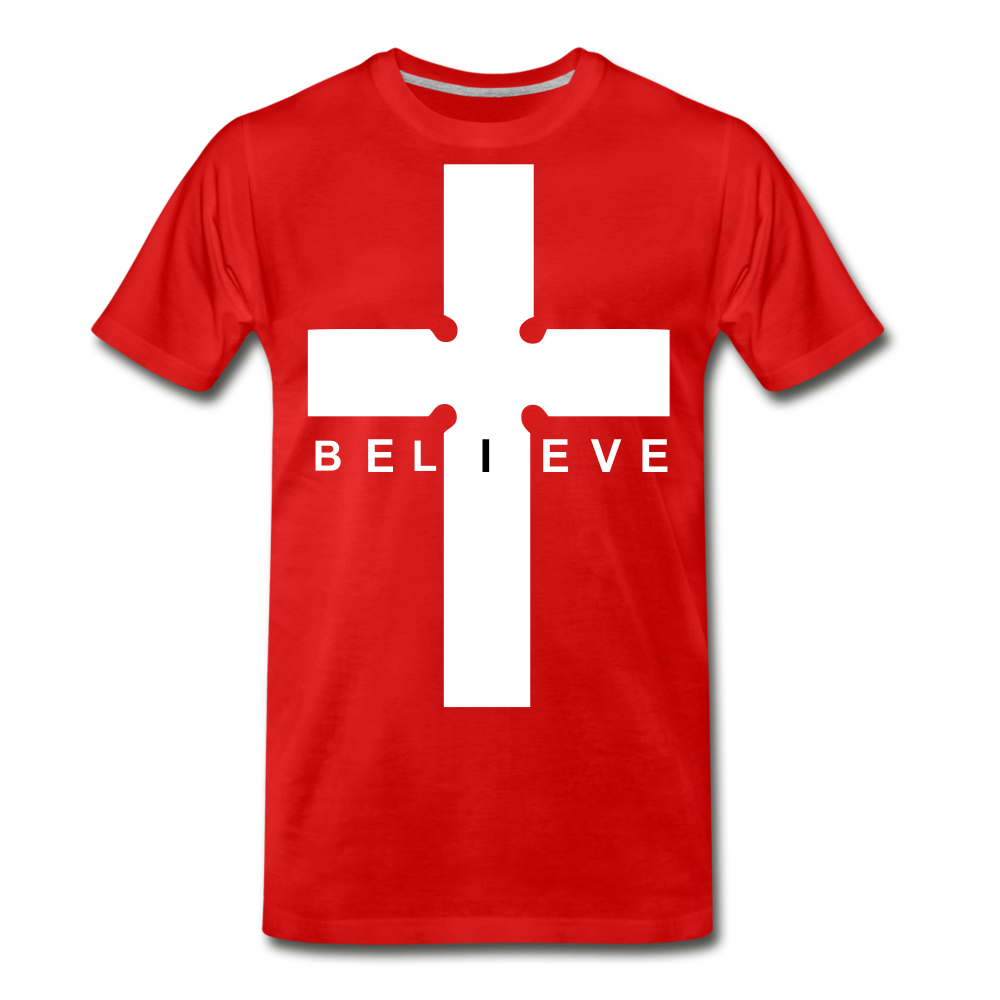 I Believe - red