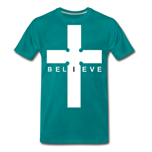 I Believe - teal