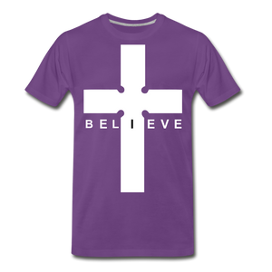 I Believe - purple