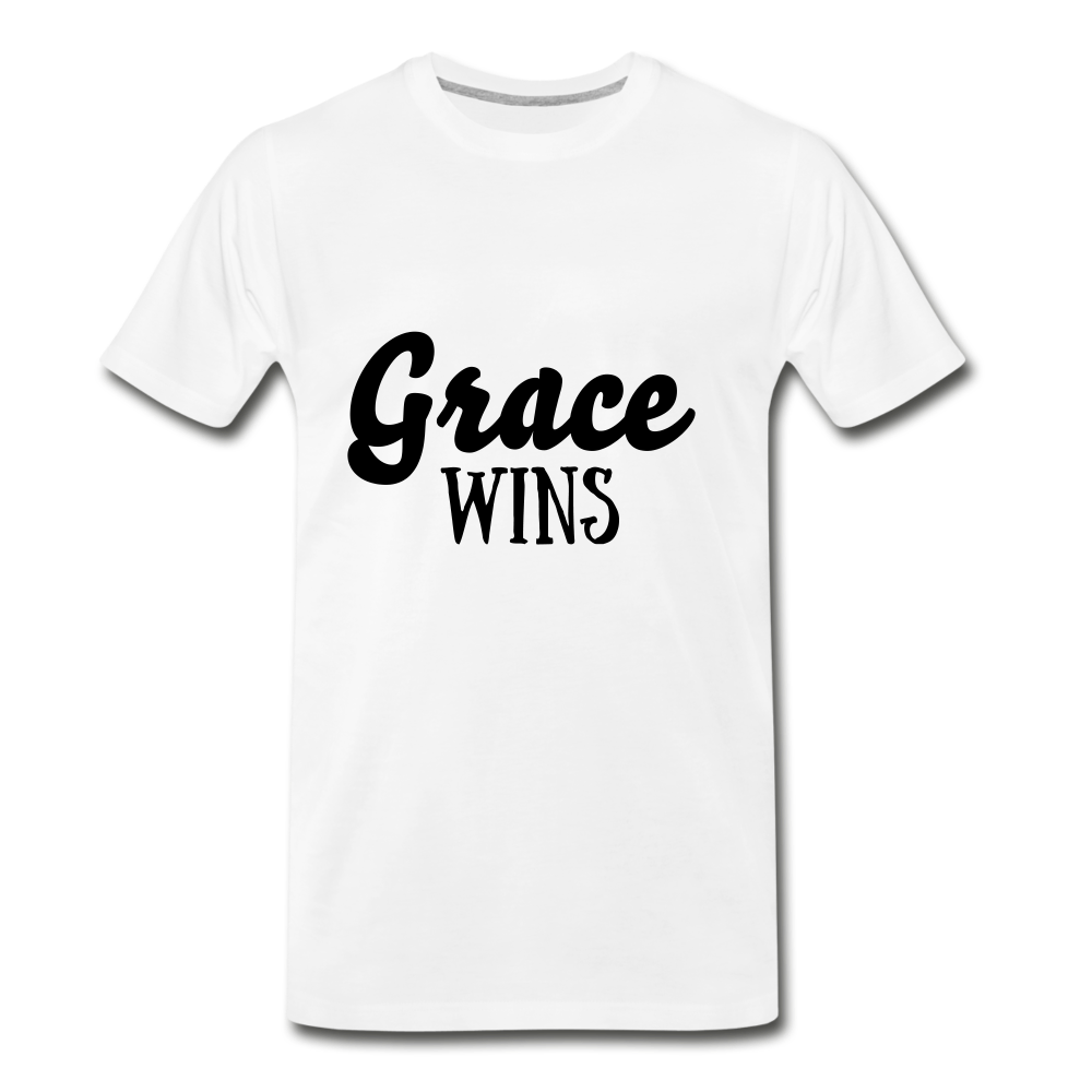 Grace Wins - white