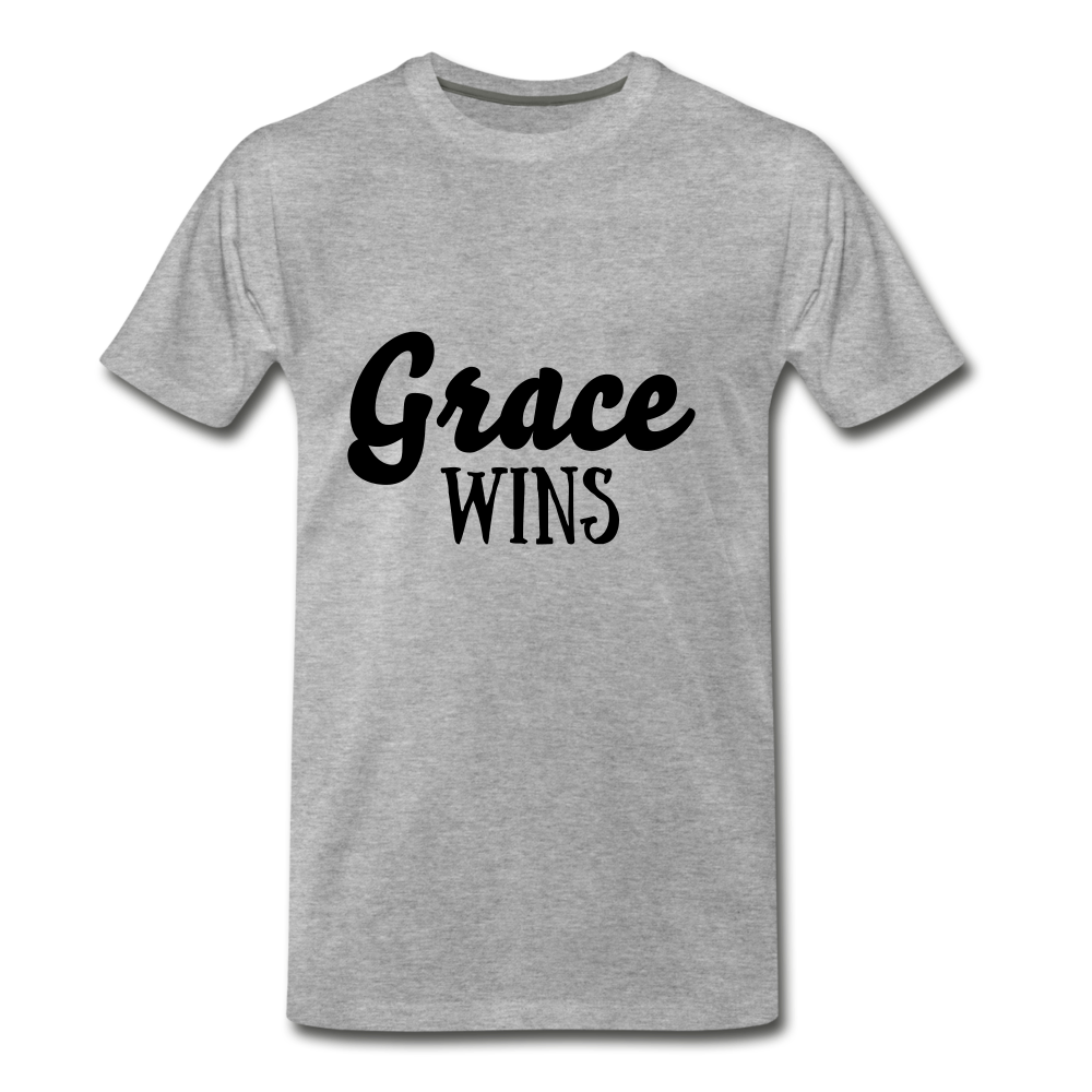 Grace Wins - heather gray