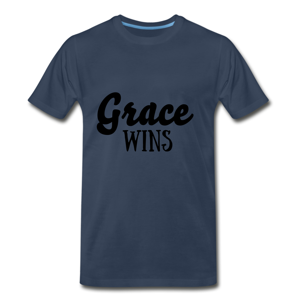 Grace Wins - navy
