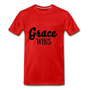 Grace Wins - red