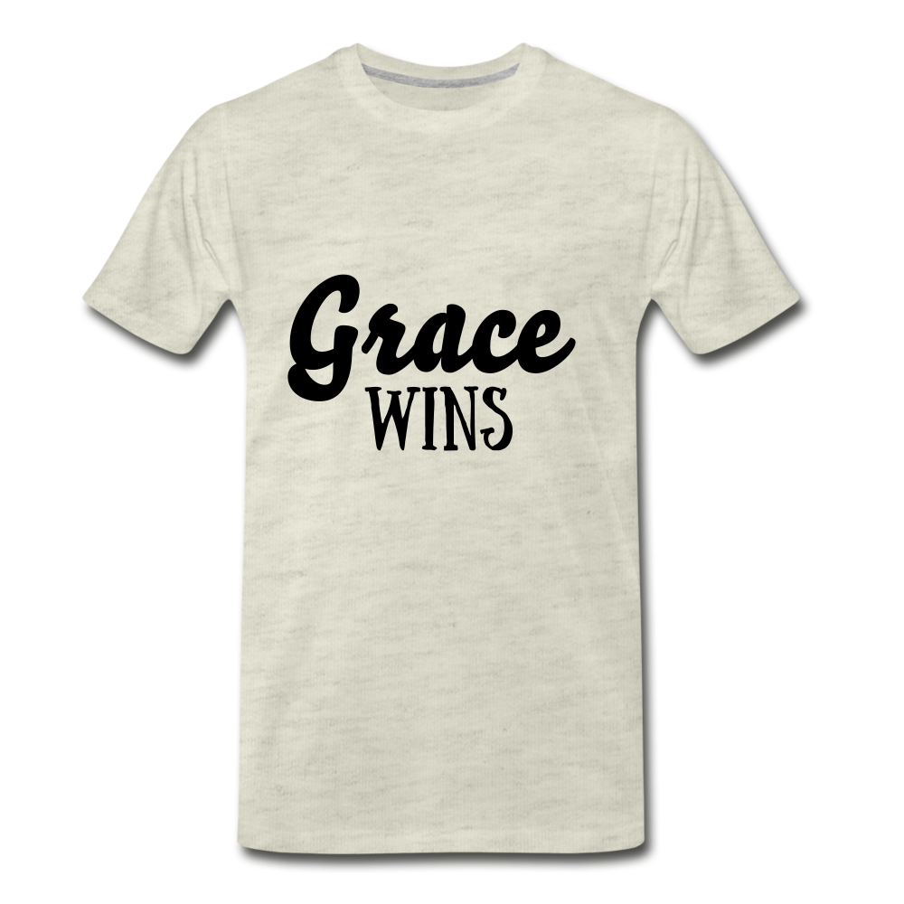 Grace Wins - heather oatmeal
