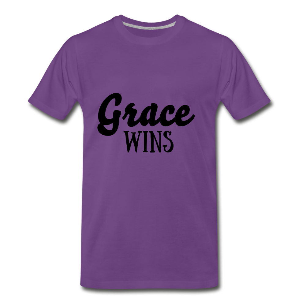 Grace Wins - purple