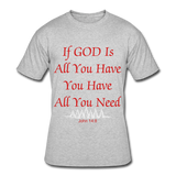 God is all you need - heather gray