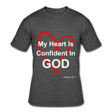 Confident in God - heather black