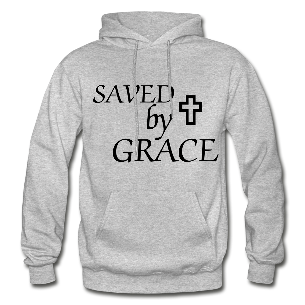 Saved By Grace. - heather gray