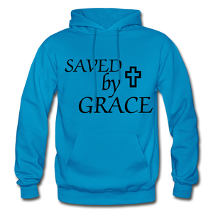 Saved By Grace. - turquoise