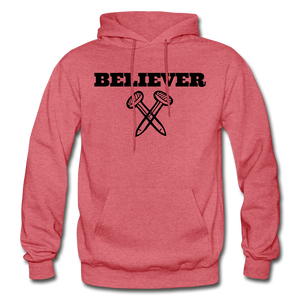Believer Hoodie - heather red