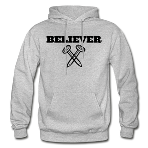 Believer Hoodie - heather gray