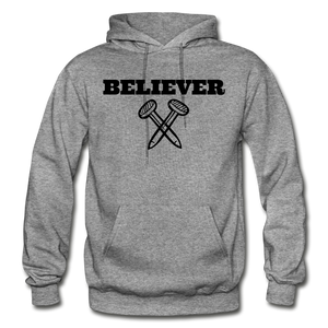 Believer Hoodie - graphite heather