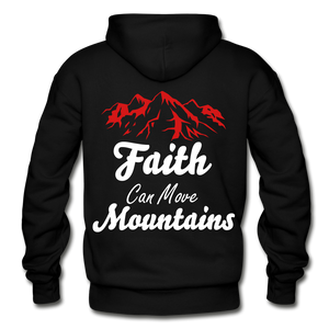 Faith Can Move Mountains. - black