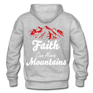 Faith Can Move Mountains. - heather gray