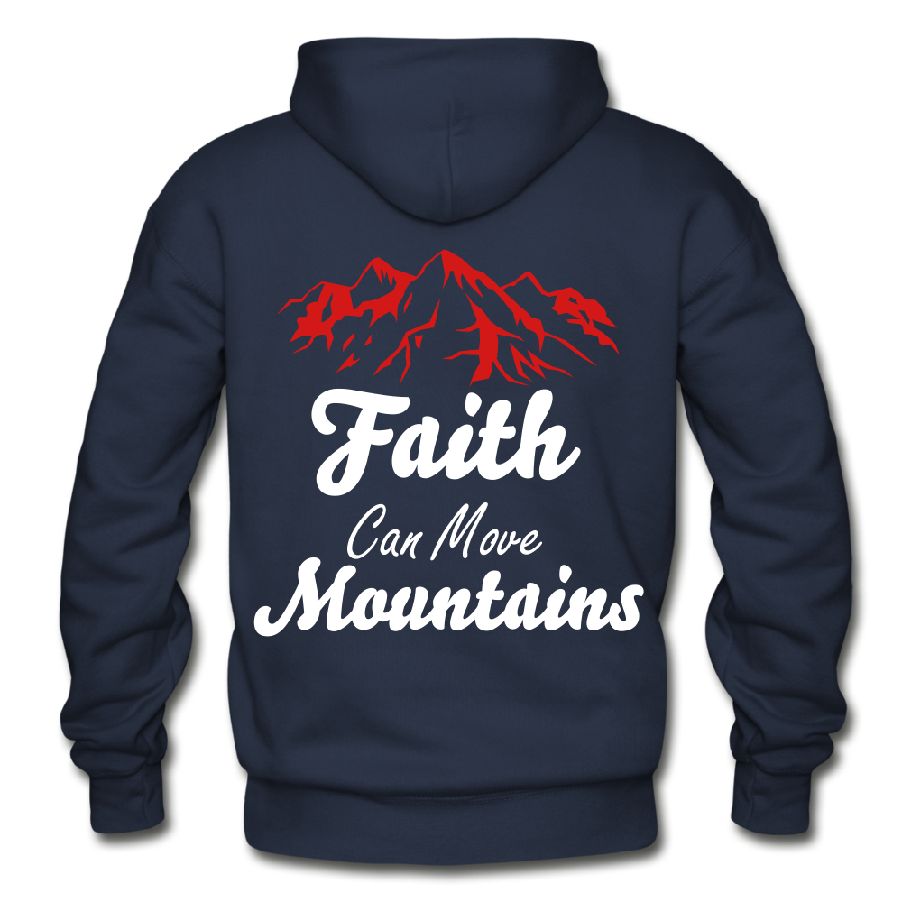Faith Can Move Mountains. - navy