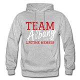 Team Albany Hoodie - heather gray