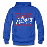 Team Albany Hoodie - royal blue