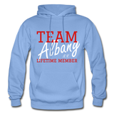 Team Albany Hoodie - carolina blue