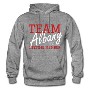 Team Albany Hoodie - graphite heather
