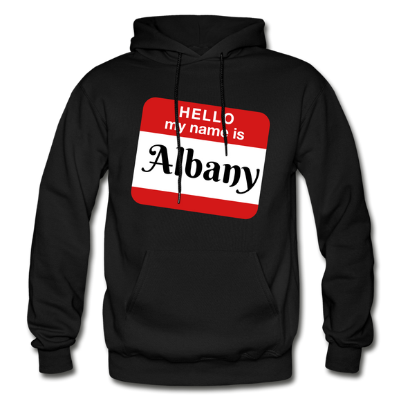 My Name Is Albany. - black