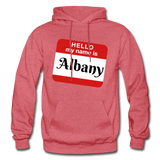 My Name Is Albany. - heather red