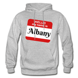 My Name Is Albany. - heather gray