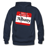 My Name Is Albany. - navy