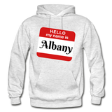 My Name Is Albany. - light heather gray
