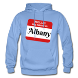 My Name Is Albany. - carolina blue