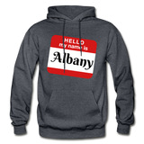 My Name Is Albany. - charcoal gray