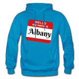 My Name Is Albany. - turquoise