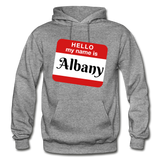 My Name Is Albany. - graphite heather
