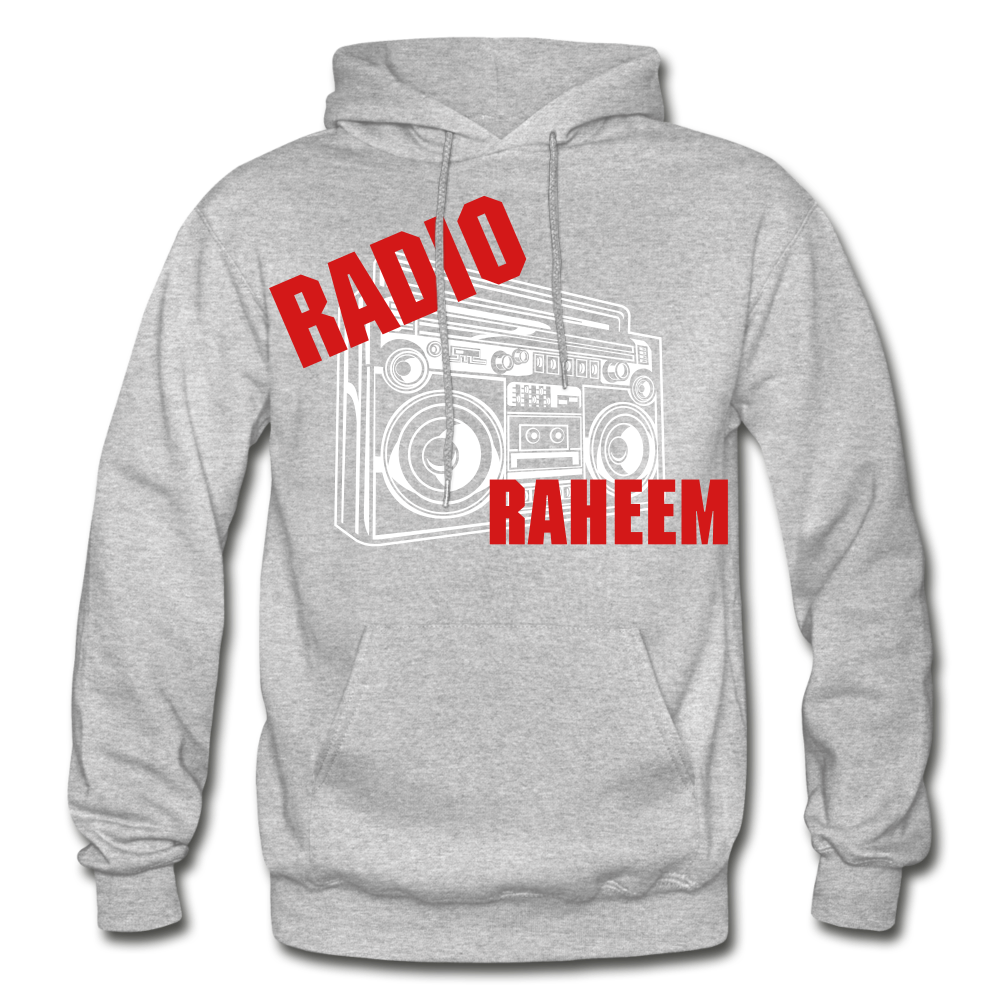 Radio Raheem Hoodie - heather gray